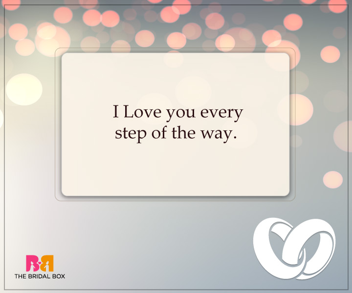 Engagement Quotes For Him - The Start