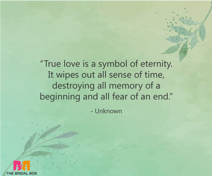True Love Quotes - Unknown