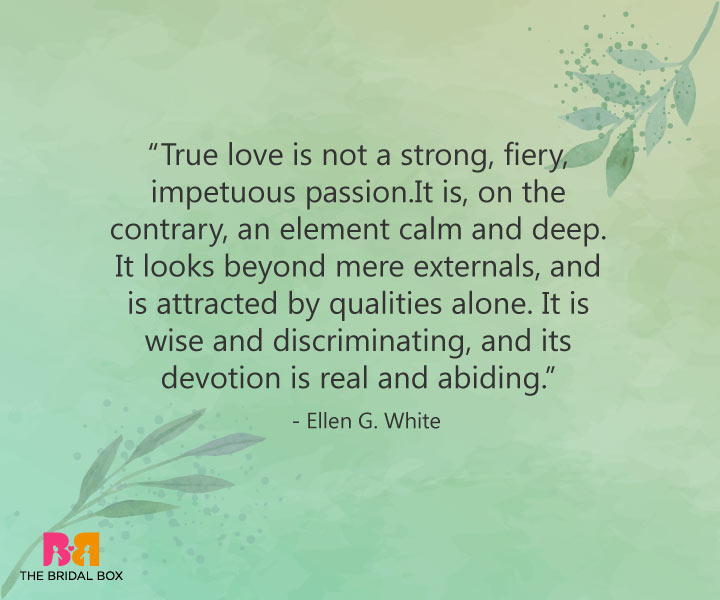 True Love Quotes - Ellen White