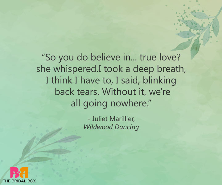 True Love Quotes - Juliet Marillier