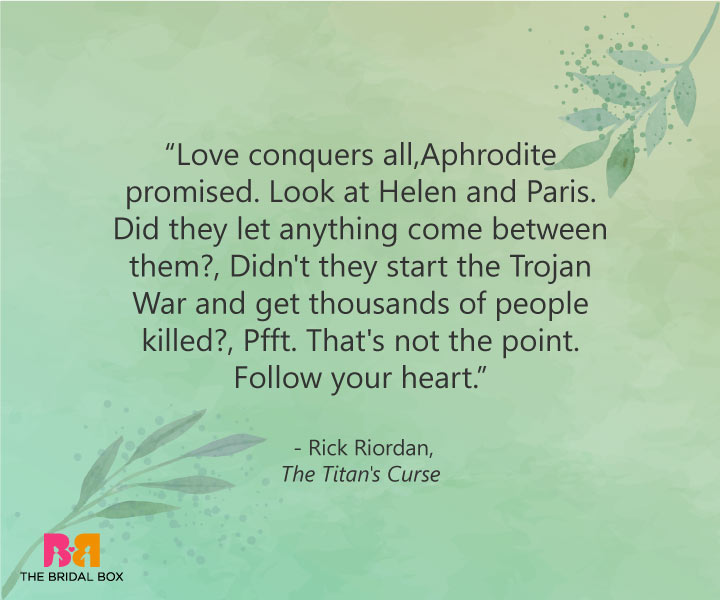 True Love Quotes - Rick Riordan