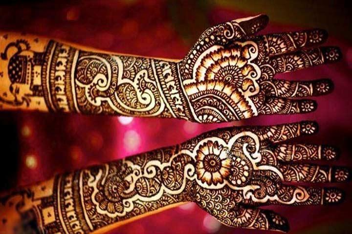 Arabic Henna - Full Hand Mehndi Designs