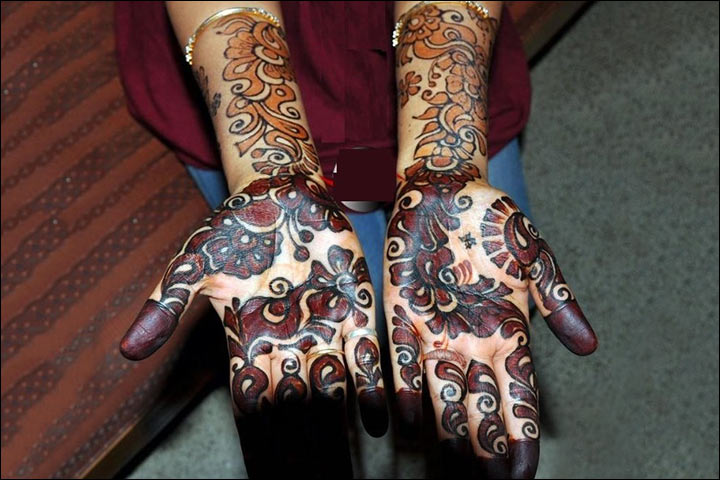 Colorful Mehndi Designs - Beautifully Brown