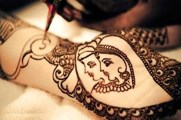 Mehndi Name Hand Name Picture : Dulhan mehndi designs best images