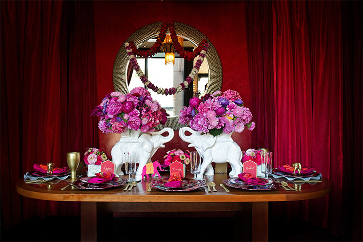 Table Decor - Fairytale Wedding Decorations