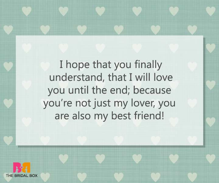 Best Friend - Emotional Love Messages