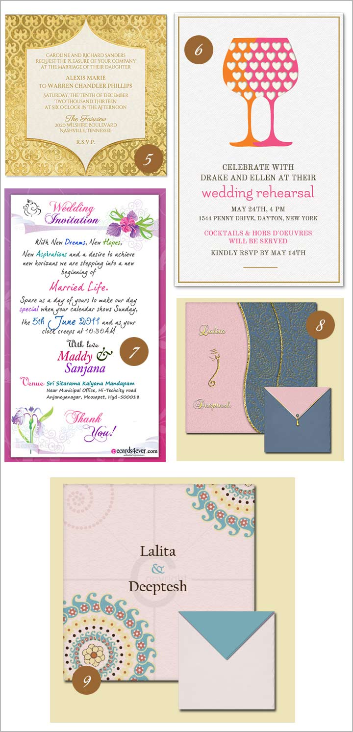 10 fabulous online wedding invitation templates that you must try out