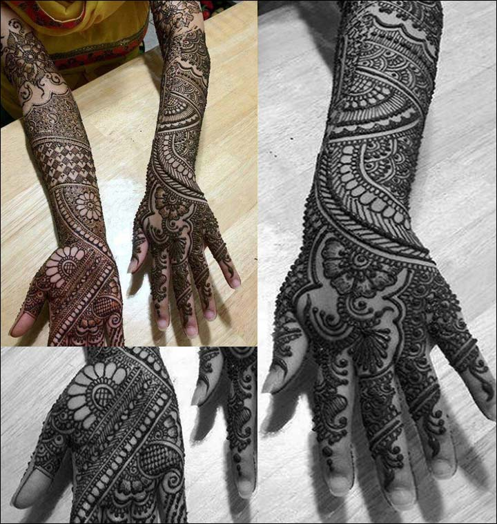 Arm Mehndi Designs - Floral