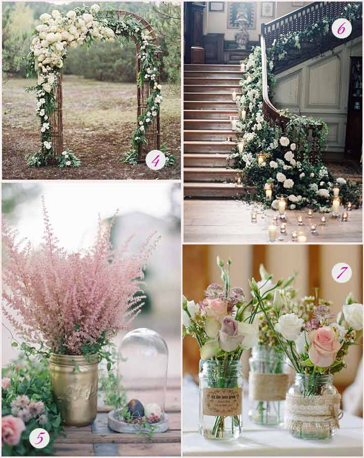 Classy Flower Decorations For Wedding Reception