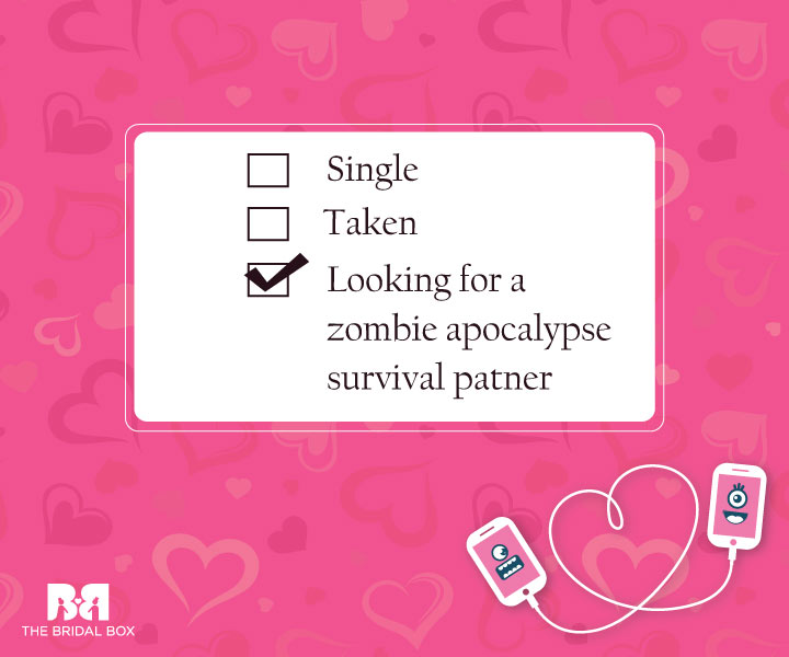 Zombie Apocalypse - Funny Love SMS For Girlfriend