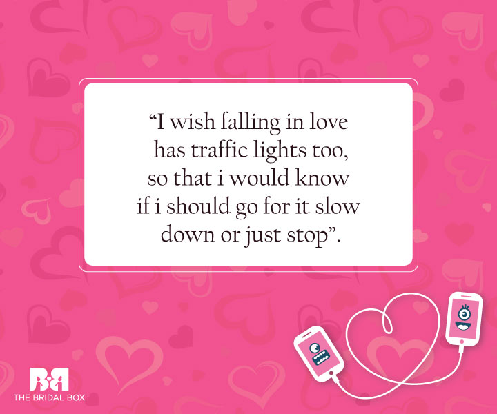 Traffic Light Love - Funny Love SMS For Girlfriend