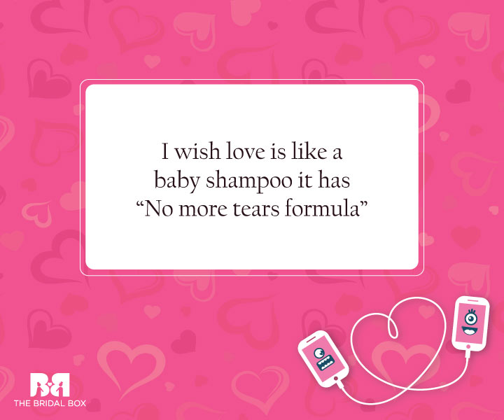 No More Tears - Funny Love SMS For Girlfriend