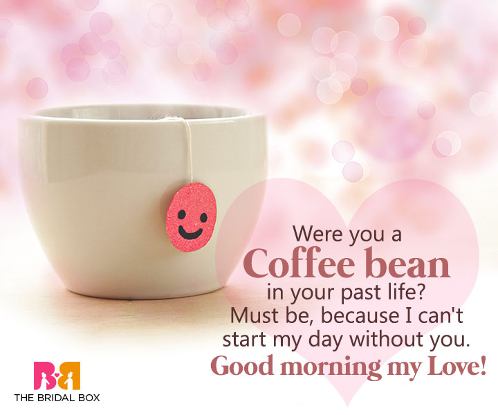 Good Morning Love Sms For Girlfriend - Coffee Bean