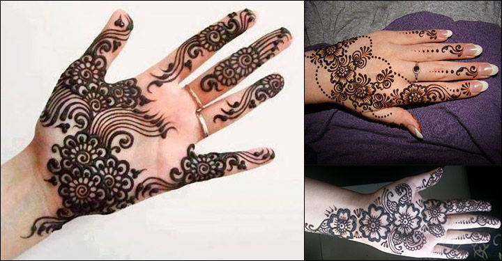 Mehndi designs for hands with pictures diy video a beautiful dark mehndi design for hands that is typically kashmiri solutioingenieria Image collections