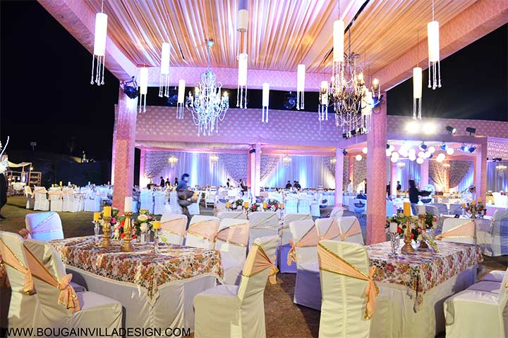 Nice Lights And Candles   Fairytale Wedding Decorations