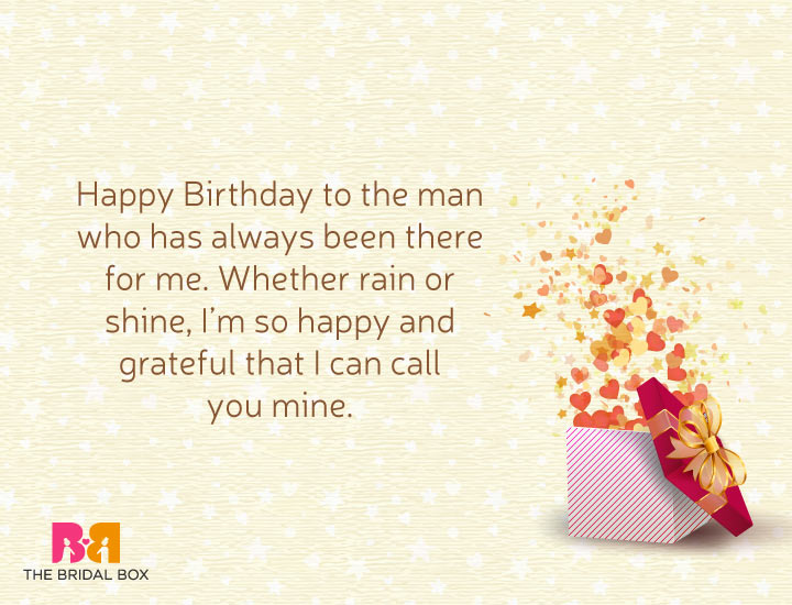 Love Birthday Messages For Him - 13