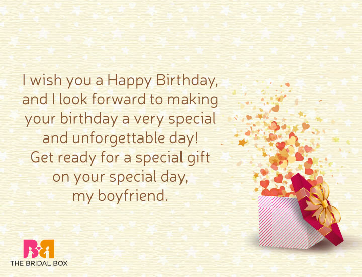 Love Birthday Messages For Him - 6