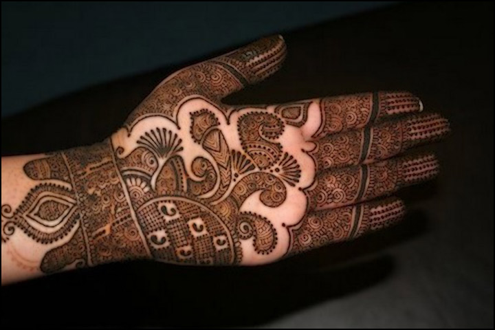 Mehndi Design for hands - Mughlai Mehndi Designs