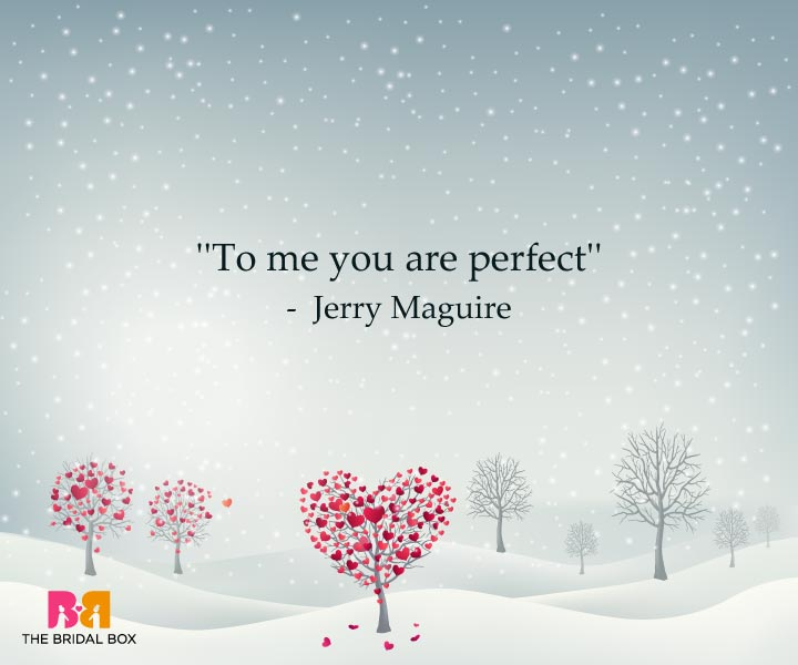 One Line Love Quotes For Her - Jerry Maguire