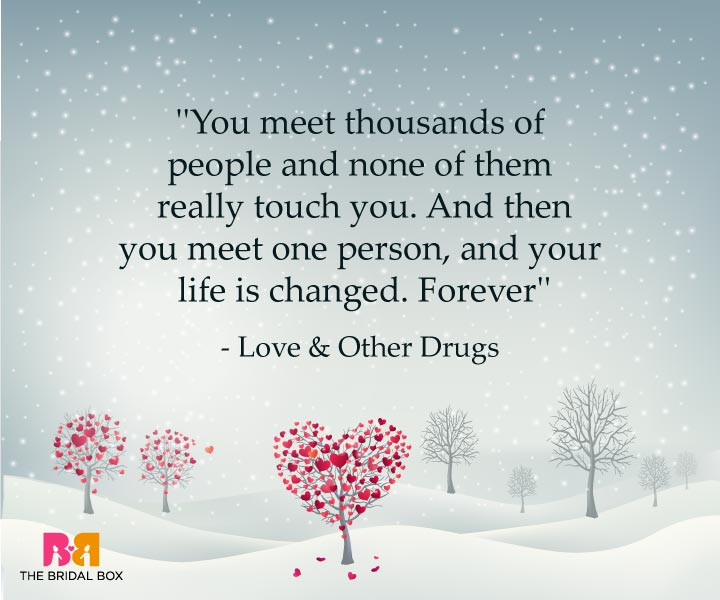 One Line Love Quotes For Her - Love And Other Drugs