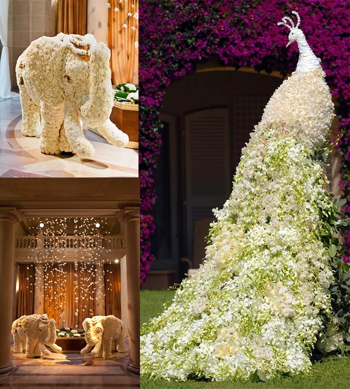 Floral Arrangements - Fairytale Wedding Decorations