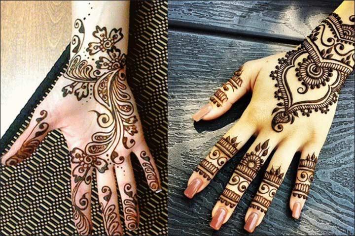 Pakistani Henna - Full Hand Mehndi Designs
