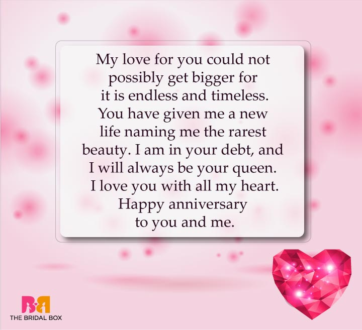 Timeless Love - Love Anniversary Sms