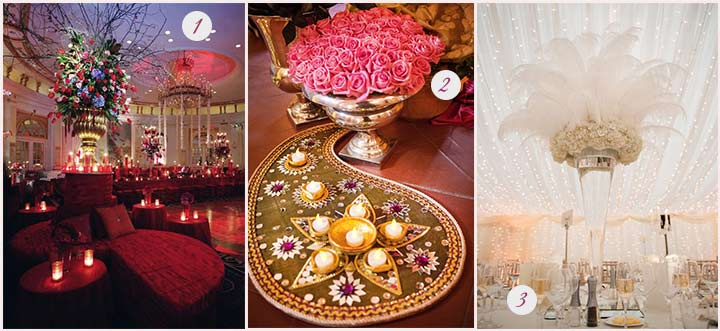 Magnificent Flower Decorations For Wedding Reception