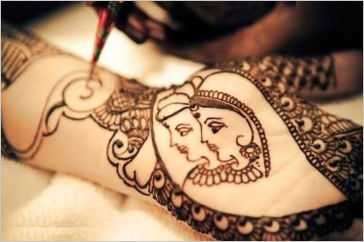 Traditional Dulhan Mehndi Design