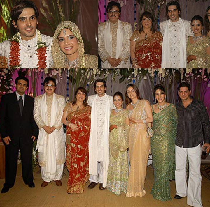 zayed khan wedding - family