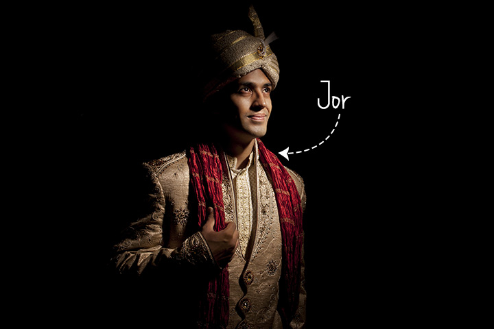 Bengali Groom Dress - Jor