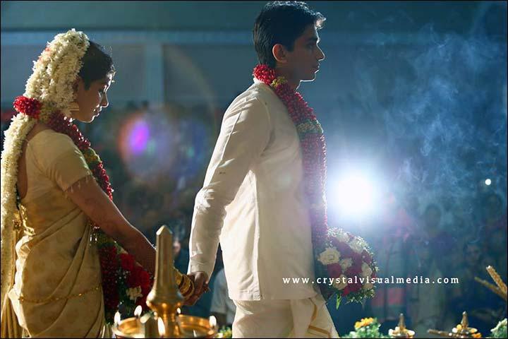 Groom In Dhoti At Kerala Wedding