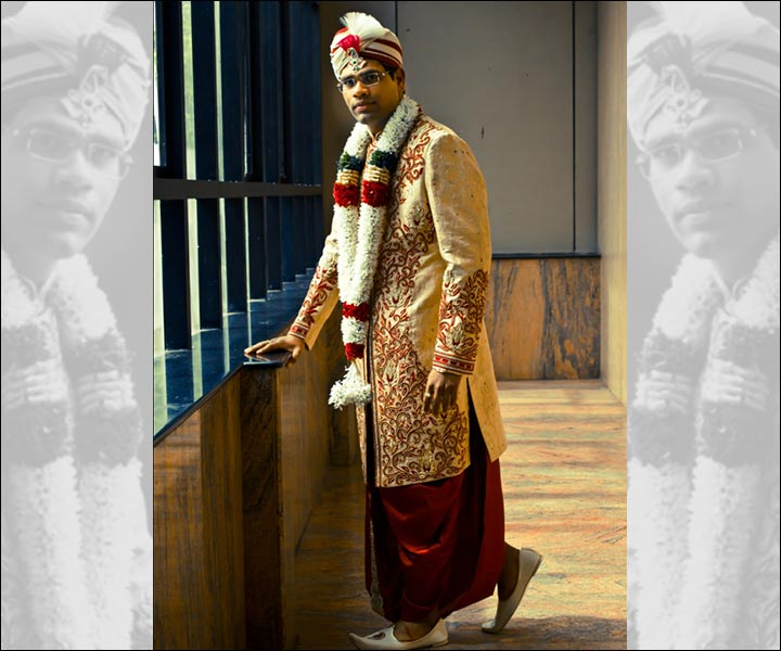 Sherwani - Kerala Groom Dress