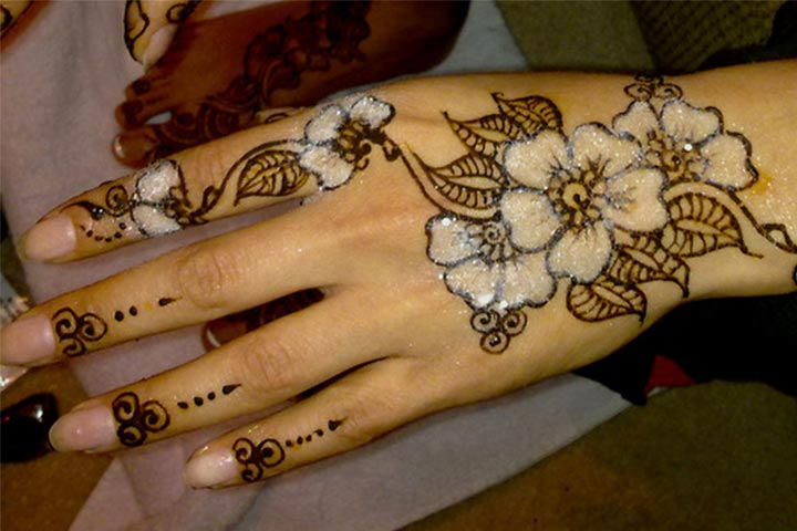 Bejeweled - Arabic Black Mehndi Designs