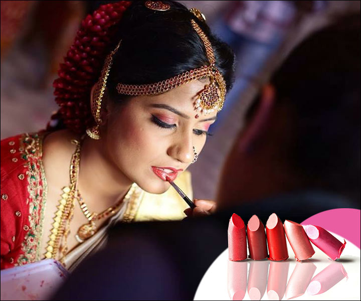 Asian Bridal Makeup - Lip Makeup