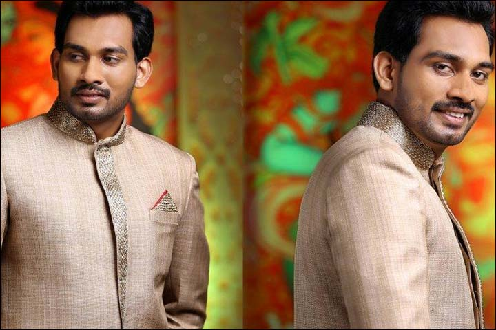 bandhgala sherwani for kerala groom