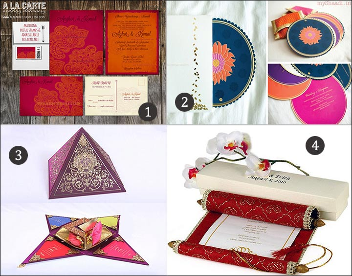 Bengali Wedding Cards