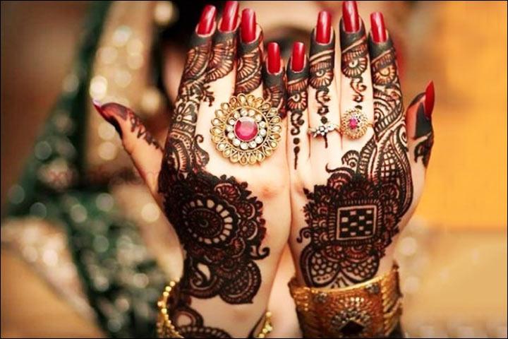 Black Mehndi - Bollywood Mehndi Designs