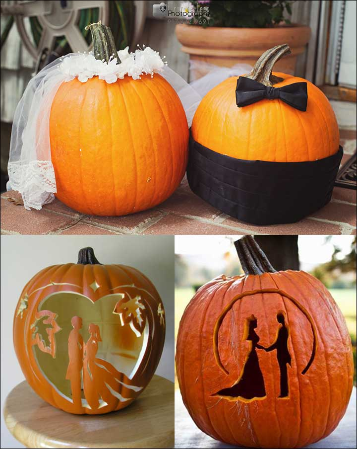 Wedding Pumpkins - Orange Wedding Decorations