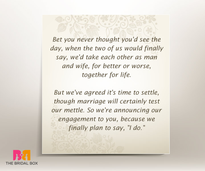 7 well put engagement invitation quotes