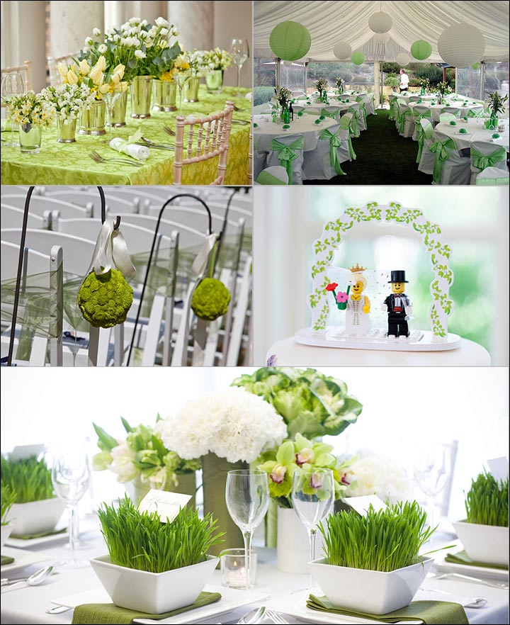 Ceremonies - Green Wedding Decorations