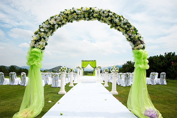 5 green wedding decorations that will leave you speechless junglespirit Gallery