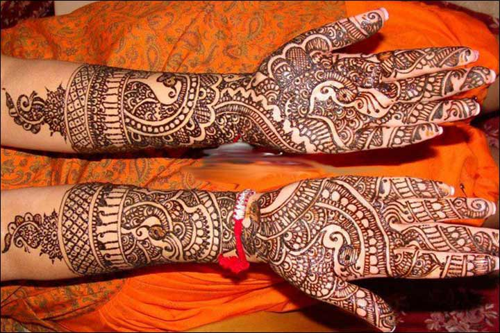 Gujarati Mehndi - Bollywood Mehndi Designs