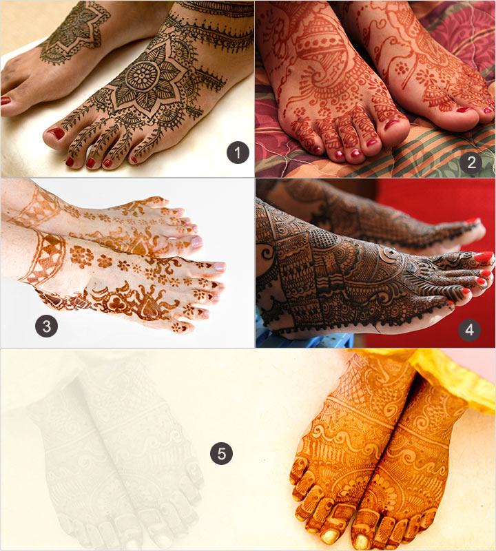 Feet - Kerala Mehndi Designs