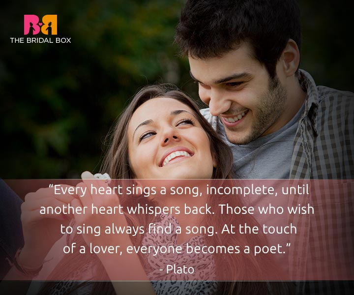 I love you quotes for him - Plato
