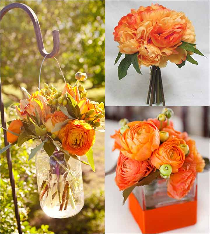 Rustic Appeal - Orange Wedding Decorations