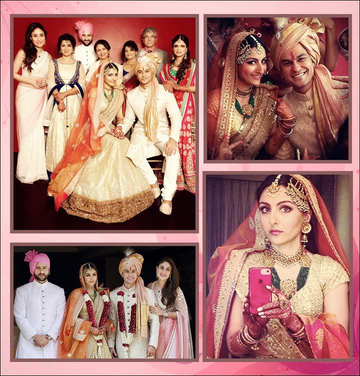Kunal Khemu and Soha Ali Khan Wedding