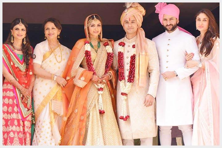 Soha Ali Khan Wedding Picture Kunal Khemu Saif Kareena Kapoor