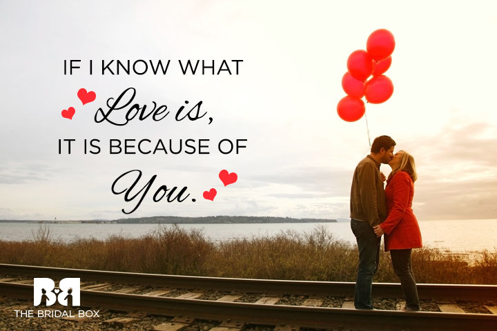 Because Of You - True Love Status