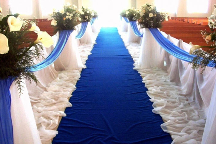 Aisle Wedding Decor